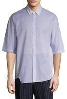 3.1 Phillip Lim Asymmetric Buttoned Shirt