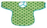 I Play Green Sprouts Long Sleeve Slicker Bib - Green Frogs - 2-4 yrs - Stage 4+ by green sprouts
