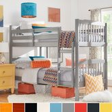 Inspire Q IQ KIDS Simone Twin and Twin Bunk Beds