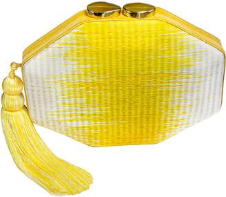 Rafe Sofia Octagon Clutch Bag