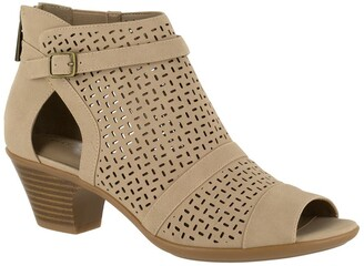 Easy Street Shoes Carrigan Cutout Bootie - Multiple Widths Available