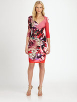 Roberto Cavalli Printed Stretch Dress