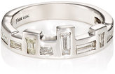Finn Women's White Diamond Half Eternity Band