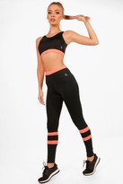 boohoo Lucy Fit High Waisted Legging & Sports Bra Set