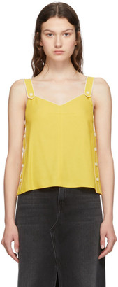 Rag & Bone Yellow Tia Tank Top