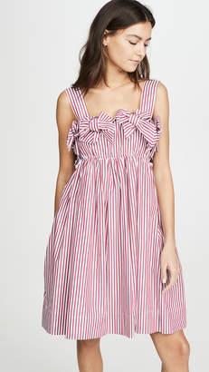 pushBUTTON Double Ribbon Mini Dress