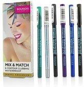 Bourjois Mix & Match 6 Contour Clubbing Waterproof Eye Pencil Set - 6pcs