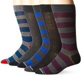 Nautica Men's Core 5 Pack Dress Sock