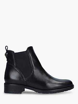 Carvela Comfort Russ Leather Chelsea Ankle Boots
