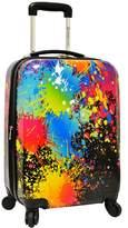 Traveler's Choice Traveler TMs Choice Paint Splatter 29-Inch Hardside Spinner Luggage