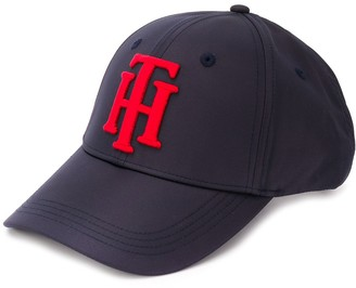Tommy Hilfiger Monogram Logo Embroidered Baseball Cap