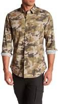 Slate & Stone Camouflage Print Regular Fit Shirt