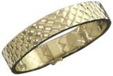 Chanel 18K Yellow Gold Matelasse Bracelet