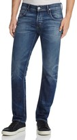 Hudson Slim Straight Jeans in Dooms Day