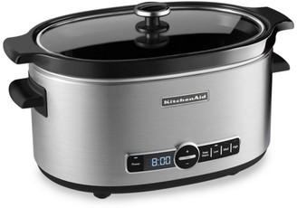 KitchenAid Lidded Six-Quart Slow Cooker