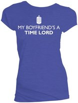 Doctor Who My Boyfriend's a Time Lord Juniors T-Shirt