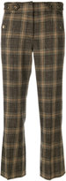 Vanessa Bruno checked cropped trousers