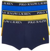 Polo Ralph Lauren Stretch Comfort Trunks, Pack of 3