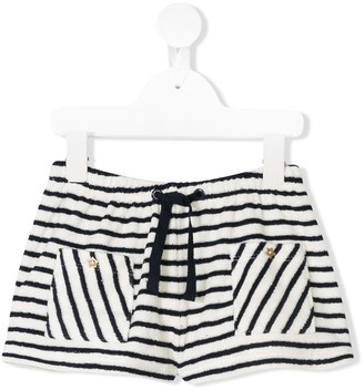 Emile et Ida Striped Casual Shorts