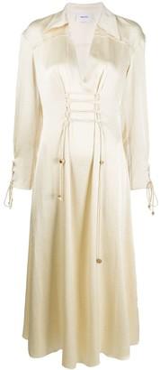 Nanushka Akita satin dress