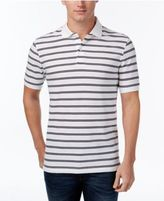 Club Room Men's Big and Tall Striped Polo, Created for Macy's
