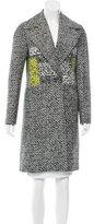 Diane von Furstenberg Nala Patterned Coat