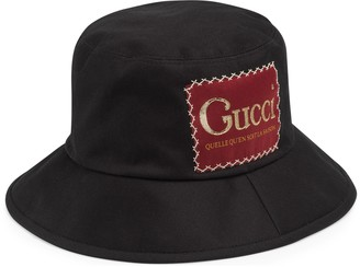 Gucci Cotton fedora with label