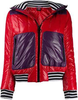 Colmar colour block puffer jacket