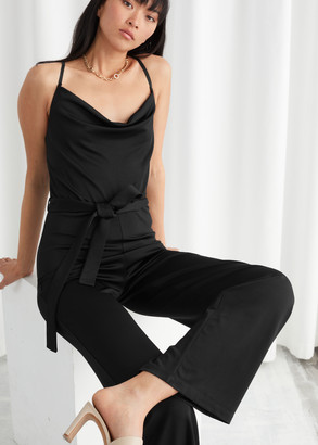 And other stories Open Back Jumpsuit