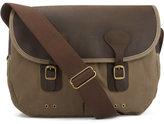 Barbour Wax Leather Tarras Bag Natural