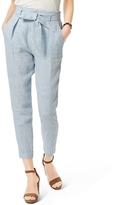 Tommy Hilfiger Final Sale- Cinched Linen Pant
