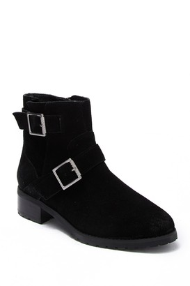 Susina Odette Water-Resistant Suede Ankle Boot