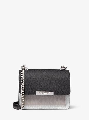 Michael Kors Jade Extra-Small Tri-Color Logo Crossbody Bag