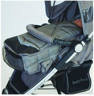 Babyhood Universal Baby Stroller Carrier Lt Brown