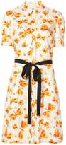 Carolina Herrera butterfly print dress
