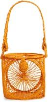 Kaanas Lorica Woven Lantern Top Handle Bag