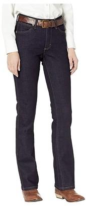 Wrangler Retro Premium Stacked Bootcut (Dark) Women's Jeans