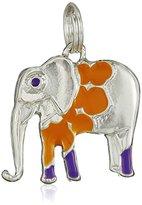 The Sak Orange Elephant Charm