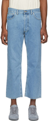 Maison Margiela Blue Denim Stonewashed Jeans