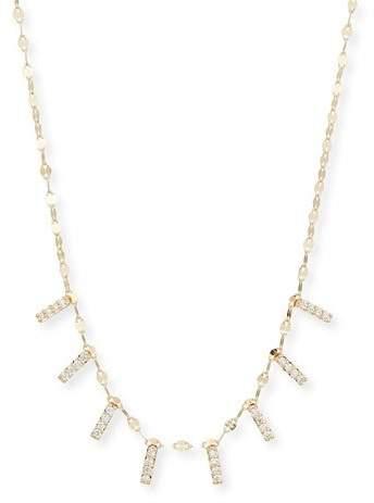 Lana Flawless Mini Diamond Bar Necklace