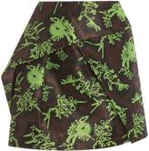 Kenzo Monster Jacquard Mini Skirt