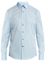 Lanvin Button-cuff cotton-poplin shirt