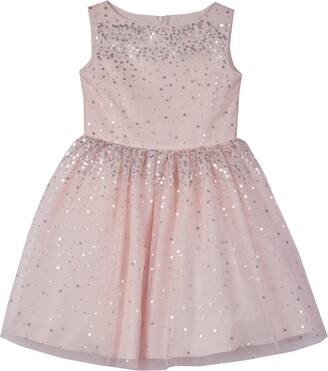 Pippa & Julie Kids' Sleeveless Sequin & Tulle Dress