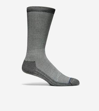 Cole Haan GRANDSERIES Herringbone Wool Crew Socks