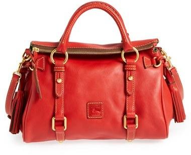 Dooney & Bourke 'Mini - Florentine Collection' Leather Satchel