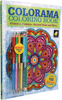 Impulse As Seen On TV Colorama Coloring BookTM + BONUS Pencil Set