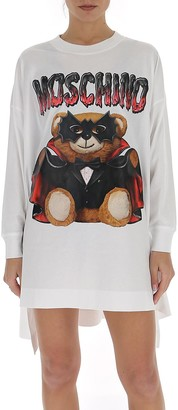 Moschino Bat Teddy Asymmetric Dress