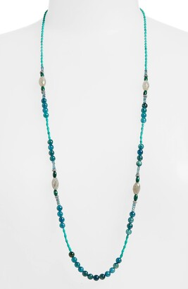 Armenta New World Long Beaded Necklace