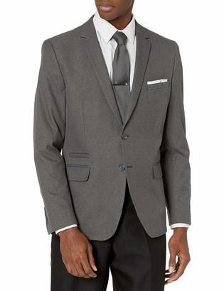 Calvin Klein Men's Infinite Tech Heather Suit Jacket