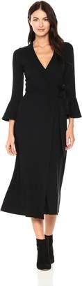 Rachel Pally Women's Luxe Rib Wrap Dress